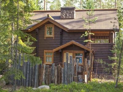 Двухэтажный дом с сауной - Русская деревня