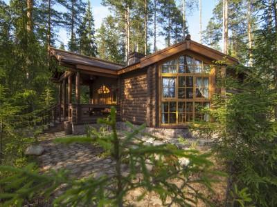 Одноэтажные дома - Русская деревня